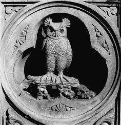 stone owl by Quabit, via Flickr