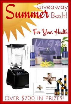 NEW at Meet Penny: Summer Giveaway Bash with Over $700 in Prizes