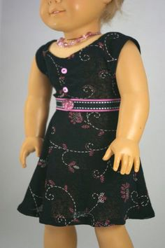 4 Piece American Girl or 18 inch doll by loreliecreations on Etsy, $17.00