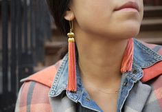DIY Tassel Earrings are Hot!