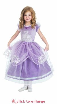 Fancy 5 Star Sofia the First Inspired Princess Dress - One size - we love this version, too! #princess #costume #sofiathefirst #dressup #party