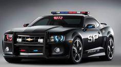 Chevy Camaro Police Car
