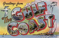 Large Letter Postcard