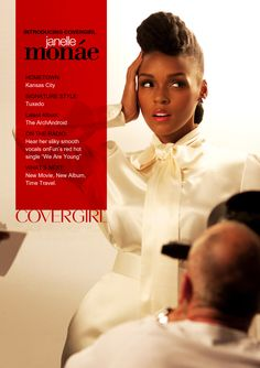 Janelle Monae Is the New Face of CoverGirl!