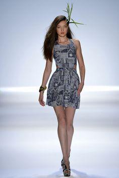 Mara Hoffman Spring 2013   #JustFab #FashionWeek