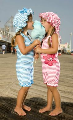 Cotton Candy in stripes...