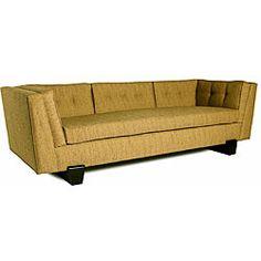 JAR Designs 'The Maxim' Burnt Orange Sofa