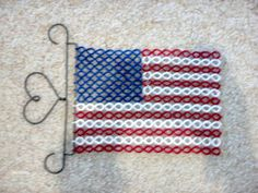 American Flag Tatting Pattern