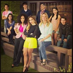 Photo by abcfamily - New Show The Fosters - Exec. Producer Jennifer Lopez. This is the first REAL show that I've seen in a long time.