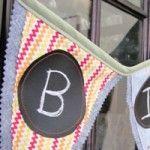 Chalk cloth banner tutorial