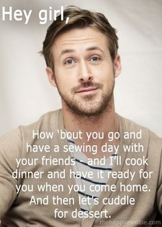 Hey Girl / Ryan Gosling, sounds to good, must be