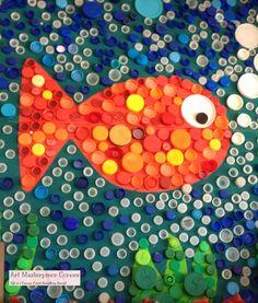 georges seurat, kid idea, storytim idea, pointillism art projects, art lesson, project idea, art masterpiece, recycl art, kid craft
