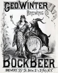 Geo. Winter Brewing Co.- Bock Beer