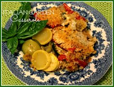 Sweet Tea and Cornbread: Italian Garden Casserole!
