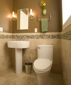 DIY bathroom on Pinterest