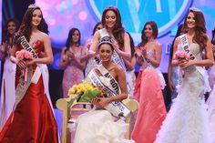 Génesis Dávila Crowned Miss World Puerto Rico 2014