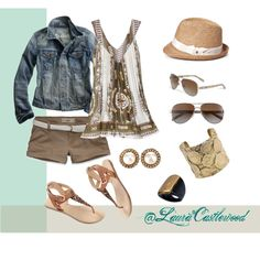 Springtime in the Port, created by lauracastlewood on Polyvore