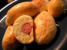 sausage kolache. These were everywhere when I lived in Texas and I still crave them. Guess I'll just have to make them myself!