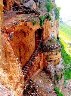 Arbel Cliff Fortress   HOME SWEET WORLD