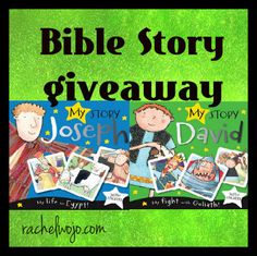 Bible story giveaway- the two stories I'm introducing to you today will  be favorites with your little ones. Designed for ages 1-4, these Bible stories, My Story: Joseph and My Story: David, are sure to be well-loved!