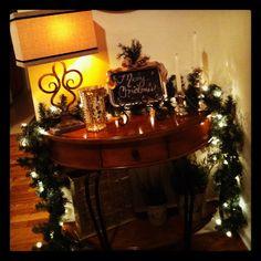 christma walkway, christma decor, christma fun, christma entri