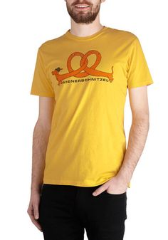 Fest Friends Forever Top - Mid-length, Yellow, Red, Orange, Green, Black, Animal Print, Quirky, Short Sleeves, Good, Crew, Novelty Print