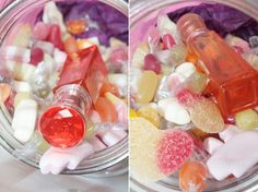 We're loving the sweet jar to go with the sweet perfume!