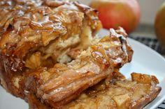 apple cinnamon pull apart bread.