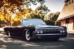 my dream car on pinterest lincoln continental old hot rods and slammed. Black Bedroom Furniture Sets. Home Design Ideas