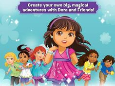 Dora and Friends HD - a video story creator featuring Dora and her friends. Appysmarts score: 86/100