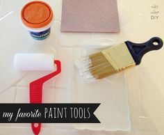 the best tools to use when painting your kitchen cabinets
