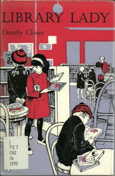 """Library Lady. Dorothy Clewes. Illustrations by Robert Hales. Chatto, Boyd & Oliver, 1970.  Seven-year-old Ginny only owns one book to her name until a library opens down the street. She becomes a member, and is soon on her way to borrowing the maximum two books at a time.  Ginny loved reading and the library, and persuaded her older brothers to join, with almost disastrous results. The library lady is there for them: """"she knows everything"""" http://www.cavendishsq.com/"""