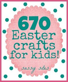 CUTE Easter crafts for kids!