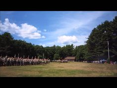 Video of the national anthem, The Star-Spangled Banner, being played at the Sunday Dress Parade at Camp #Yawgoog on August 10, 2014. At Tim O'Neil Field on the Orange Trail. Recorded by David R. Brierley.