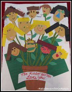 Kindergarten Garden of Artwork loves their glorious Kinder Teacher