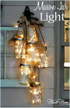 How To Make A Mason Jar Light