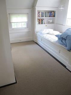 built-in bed
