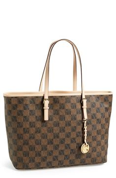 MICHAEL Michael Kors 'Medium Jet Set' Multifunction Travel Tote available at #Nordstrom