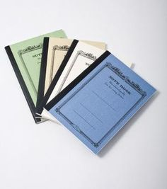 mini notebooks. catbird, $1.80