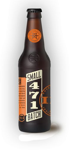 Small but special. 471 is a small batch limited edition ale