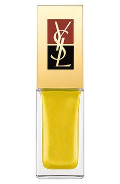 Yves Saint Laurent - Surreal Yellow     |   Visit my nail Lacquers and Nail Art pinterest over 11,000 pins @opulentnails #nailpolish #OPI #Butter #Narns #Dior #Evie #Essie #MichaelKors  #TomFord #YSL