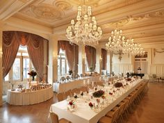 Pera Palace Hotel, Jumeirah, Istanbul - Grand Pera Ballroom - Banquet, Honeymoon destinations