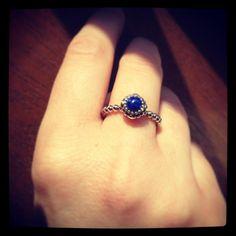 september birthstone, the beautiful lapis-lazuli. My boyfriend's born