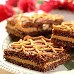 Rich Peanut Butterscotch Brownies (Easy; 4 dozen brownies) #butterscotch #brownies #snack