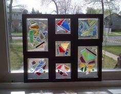 stained glass window sun catcher  large and by mosaicsbymargo, $75.00