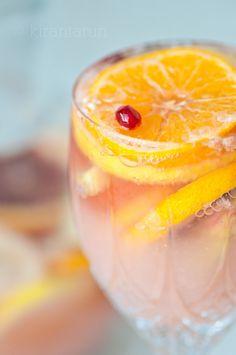 citrus champagne sangria