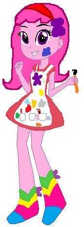 Equastria Girls - Painterfly by Appimena.deviantart.com on @DeviantART