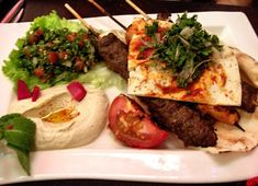Lebanese food for lunch would be lovely!