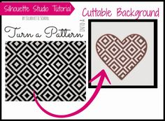 Silhouette School: Turning Patterns Into Cut Files (or Backgrounds)