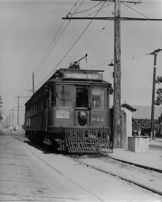 Red car on Canoga Park Route